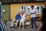 Wolfgang Hermann-Kautter und Sabine Mayer werden von Markus Stettner-Ruf verabschiedet.