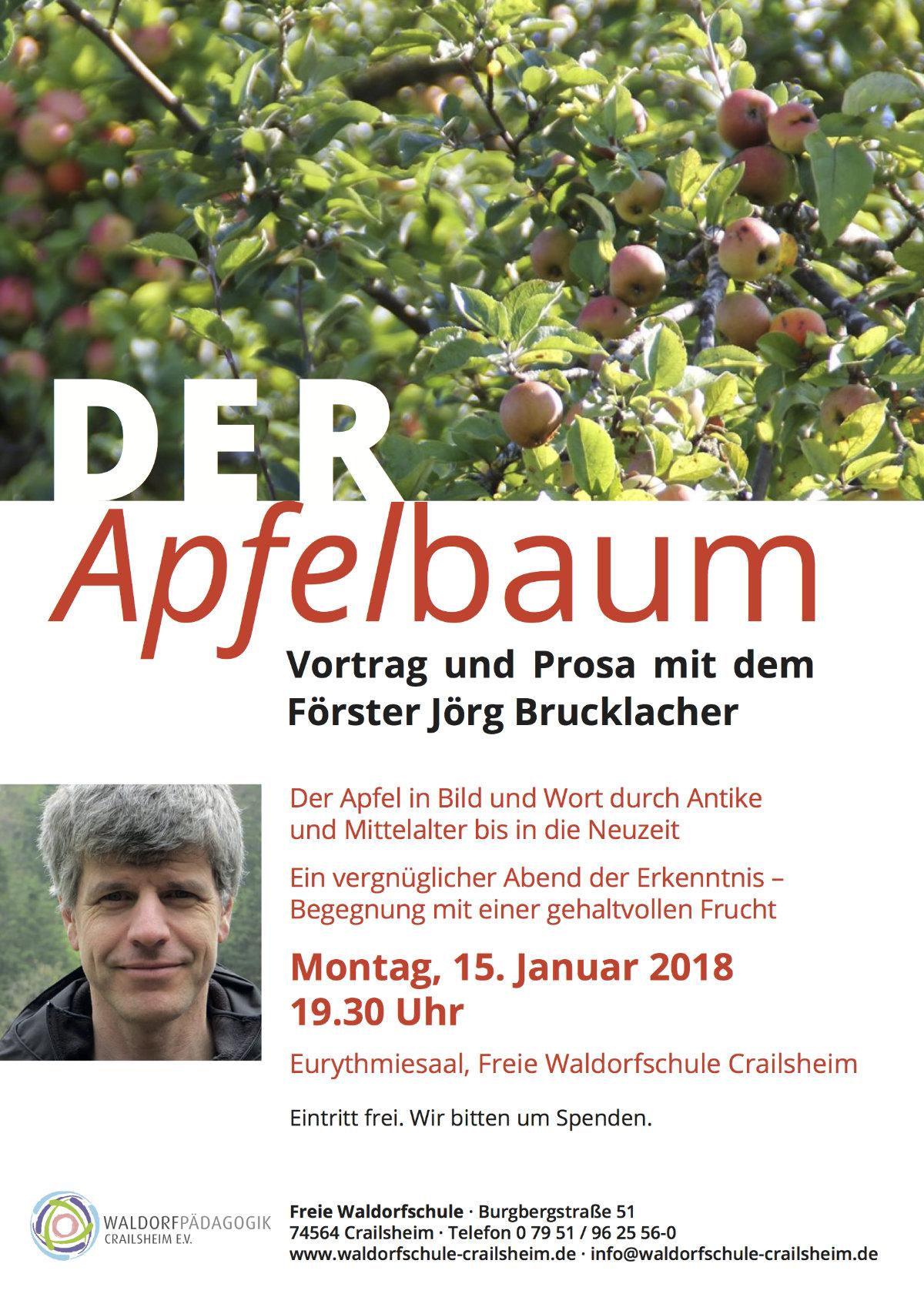 Plakat Apfelbaum