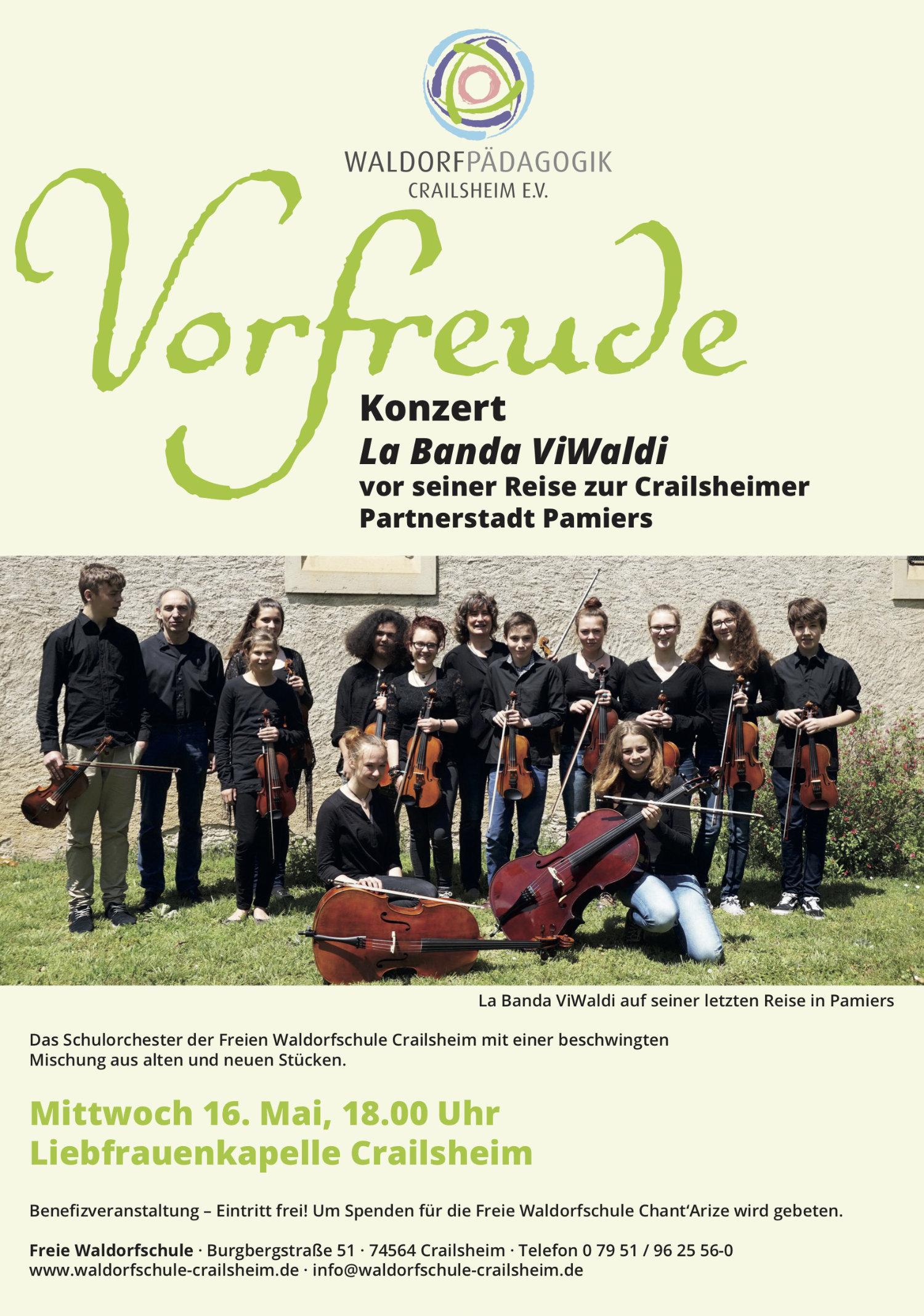 Plakat Konzert La Banda ViWaldi