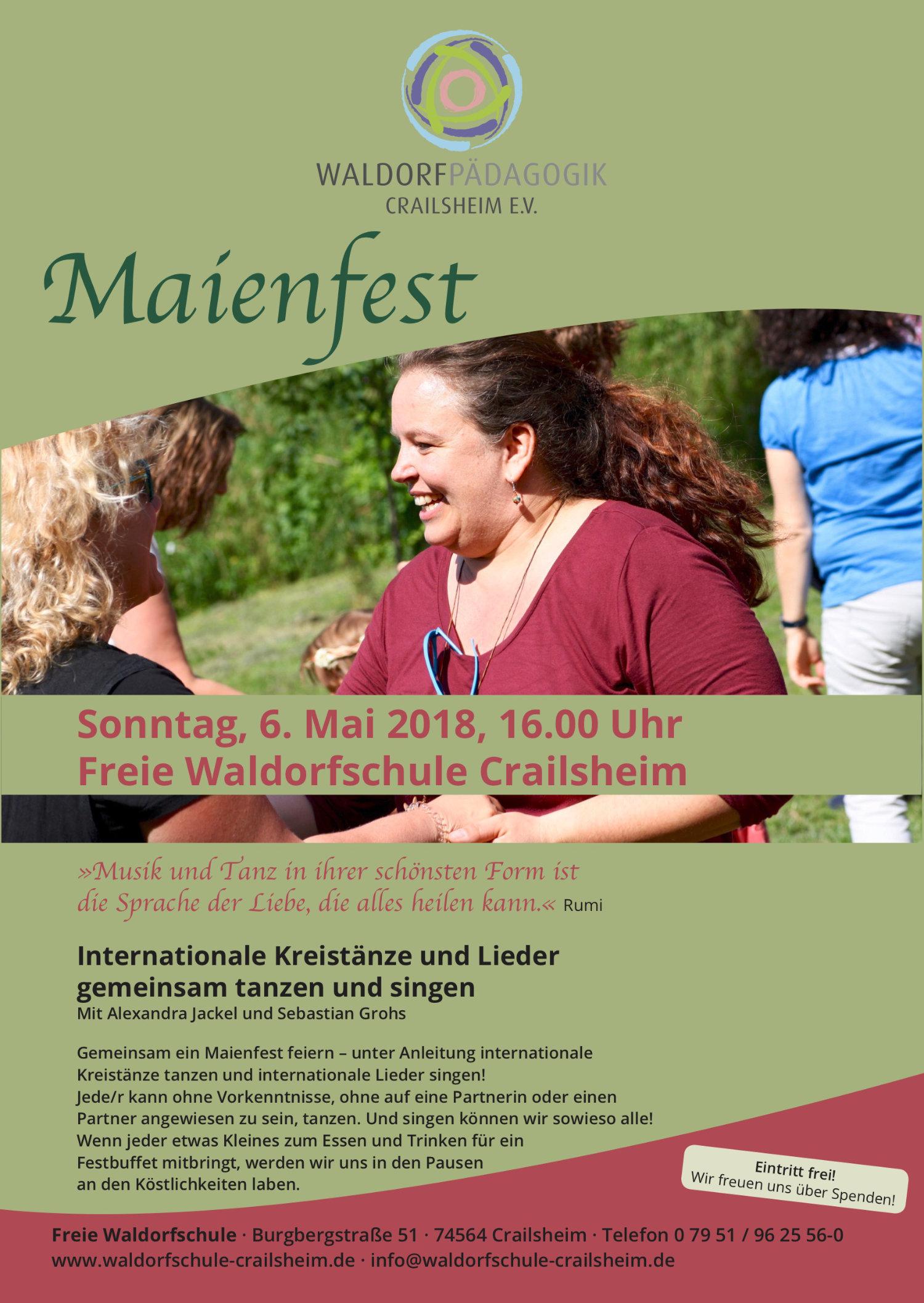 Plakat Maienfest