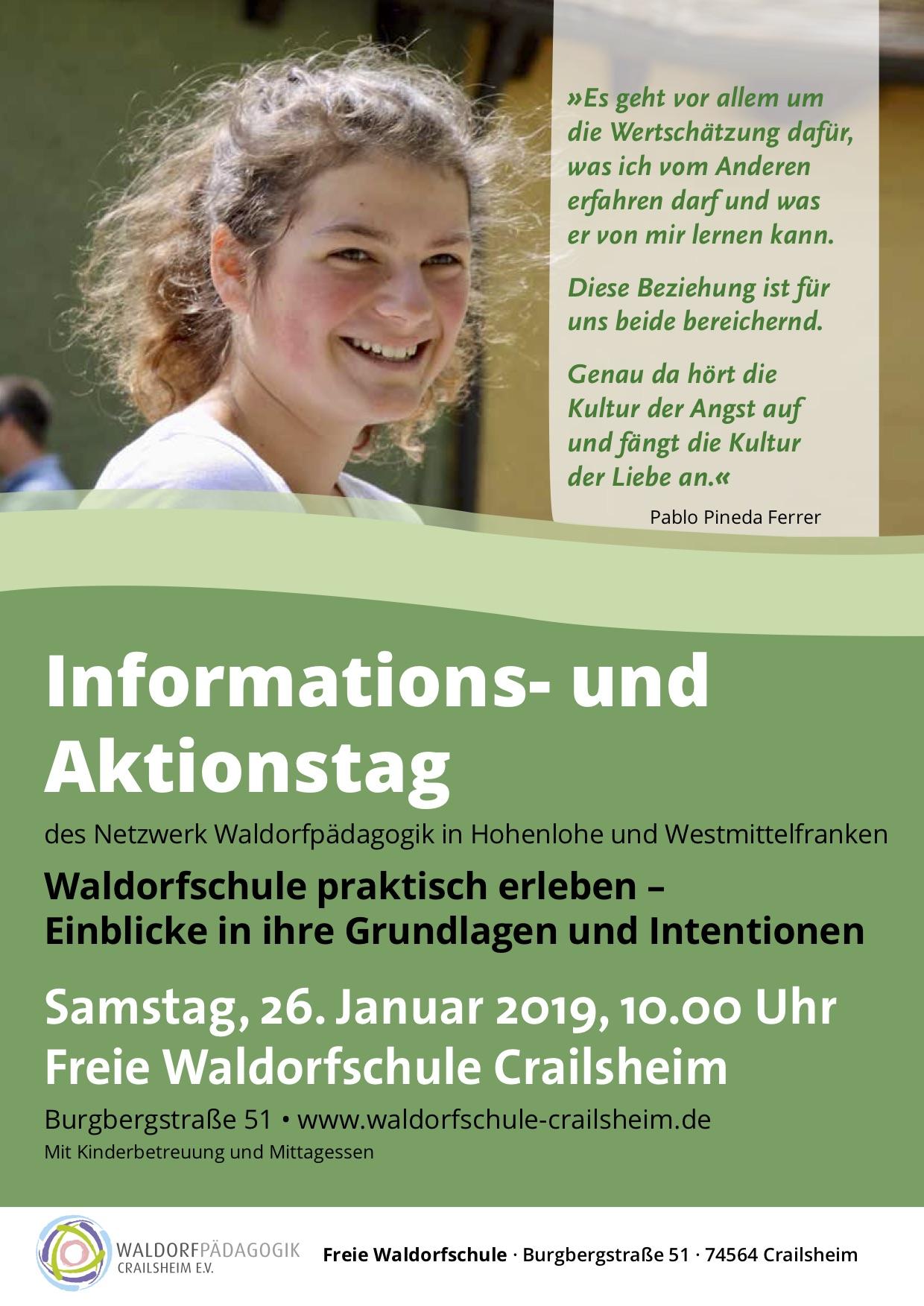 Plakat für Info- und Aktionstag 2019