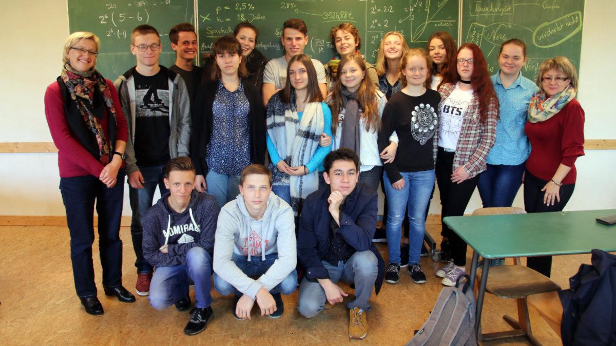 Gruppenbild Besuch aus Saratow