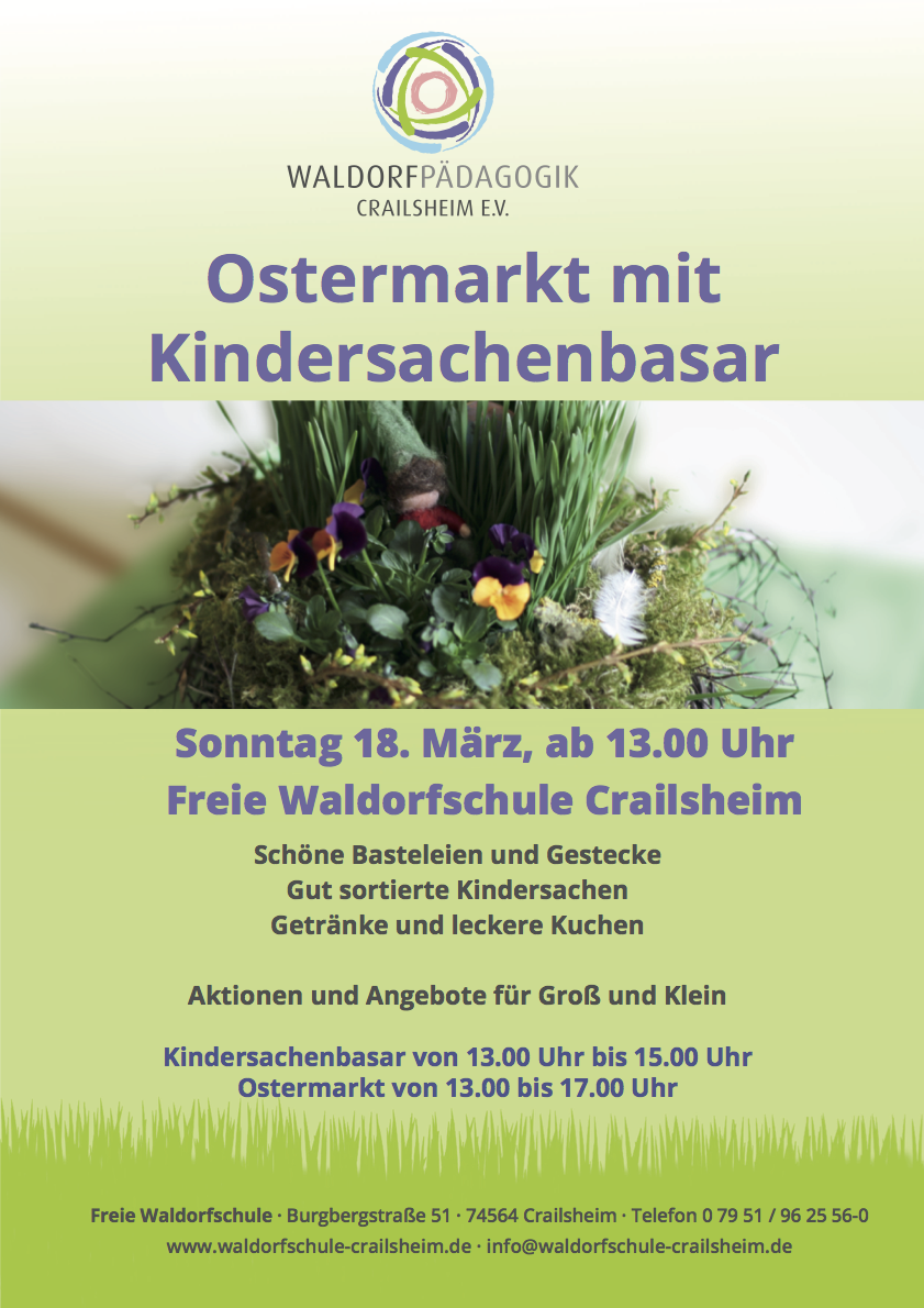 Plakat Ostermarkt 2018