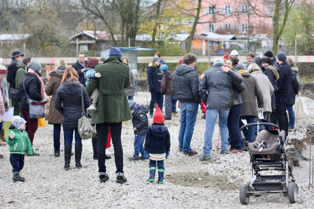 Grundsteinlegung Kindergarten